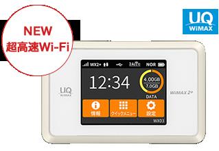 イメージ:Speed Wi-Fi NEXT WX03