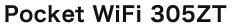 Pocket WiFi305zt